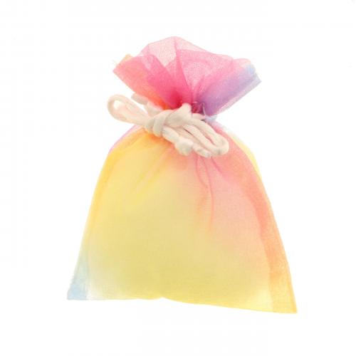 Sacchetto porta confetti piccolo in veletto e organza