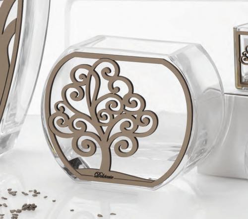 Vaso in vetro Albero della vita