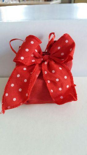 Saccoccino con fiocco rosso - Laurea