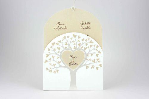 Partecipazione con albero della vita