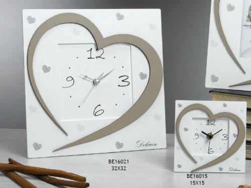 Orologio con cuore Vanilla
