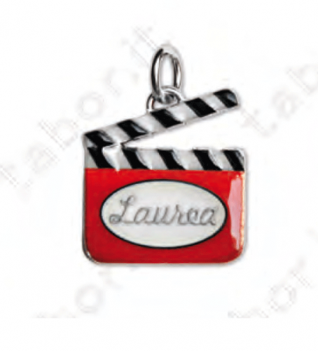 Ciondolo ciak cinematografico - Bomboniera laurea