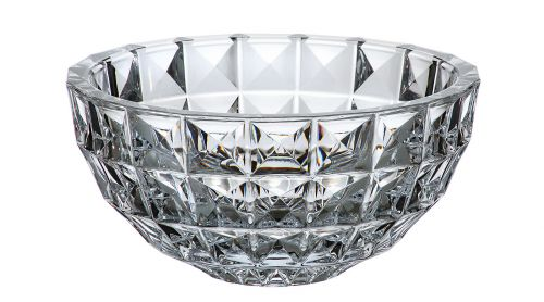 Centrotavola in cristallo Diamond 28 cm
