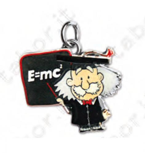 Ciondolo Einstein - Bomboniera laurea