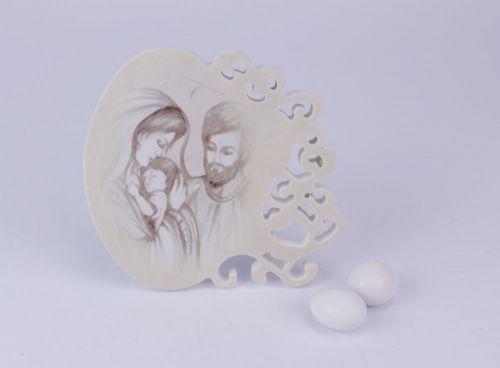 Icona Sacra famiglia bomboniere comunioni
