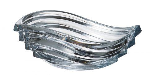 Centrotavola in cristallo Wave 30.5 cm