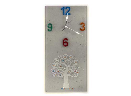 Orologio verticale rettangolare