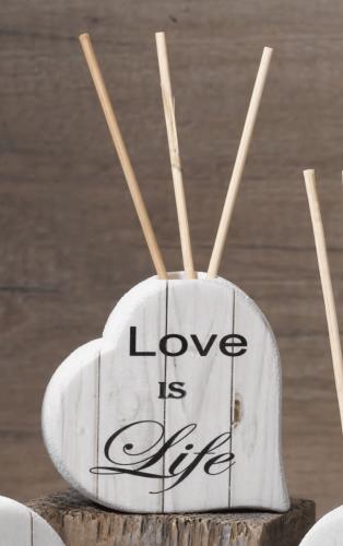 Diffusore cuore Love is Life