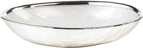 Bomboniera Ciotola GRANITO in argento e vetro nozze - Argenesi