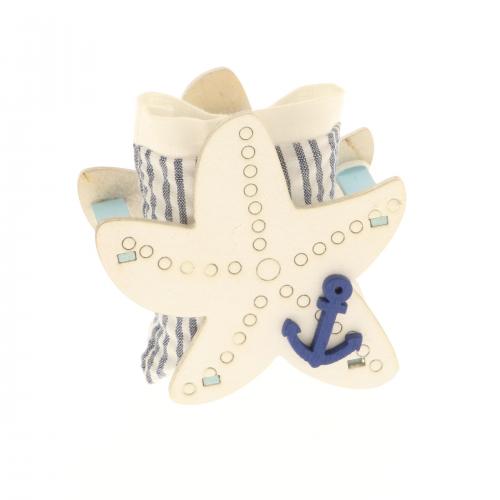 Scatolina portaconfetti stella marina