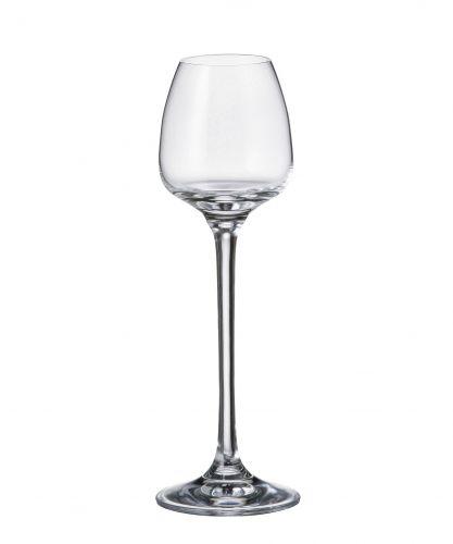 Set 6 bicchieri liquore Alizee in cristallo Bohemia
