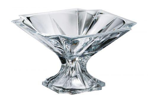 Centrotavola in cristallo Metropolitan 33 cm