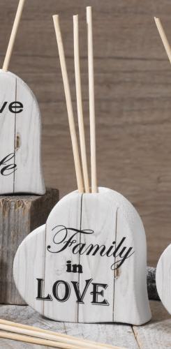 Diffusore cuore Family is Love