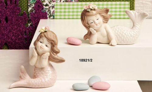 Sirenetta in ceramica