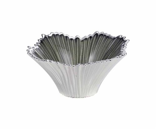 Coppa in vetro e argento VENEZIA matrimonio - Argenesi