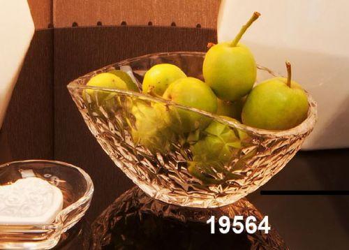 Centro tavola- Fruttiera in vetro