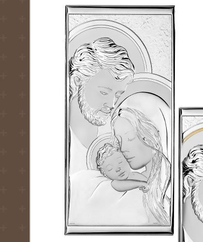 Capezzale linea Sacri argentato - Atelier