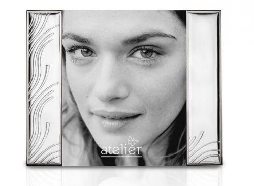 Portafoto linea Wired argentato - Atelier