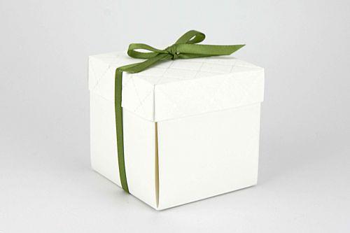 Partecipazione scatolina pois