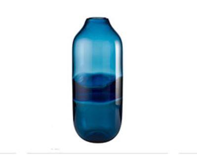 Vaso vetro doppio colore - L'Oca Nera