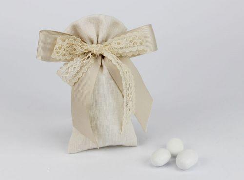 Sacchetto portaconfetti linea GINEVRA matrimonio / comunione