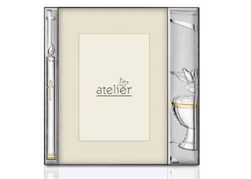 Portafoto linea Battesimo argentato - Atelier