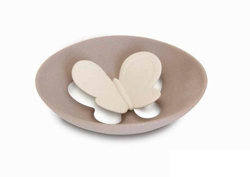 Centro tavola farfalla in gres porcellanato