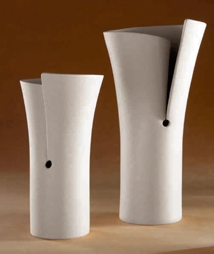 Vaso con spacco in gres porcellanato - Linea Sette
