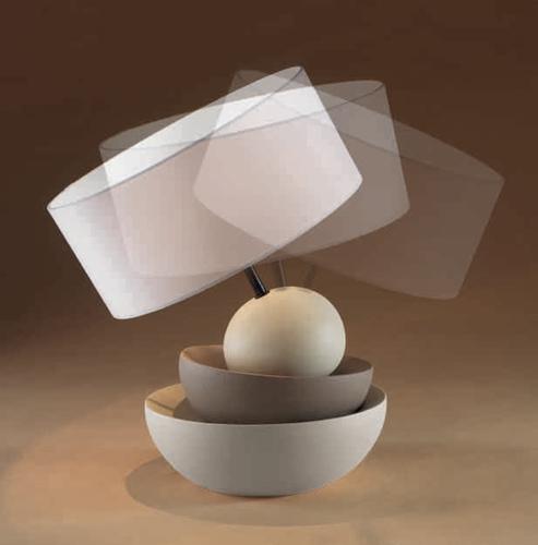 Lampada basculante in gres porcellanato - Linea Sette