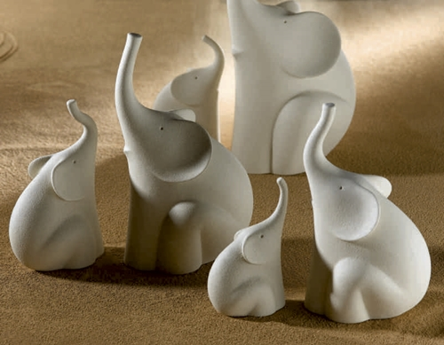 Elefantino in gres porcellanato - Linea Sette