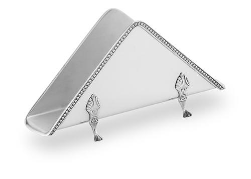 Porta tovaglioli stile impero in argento