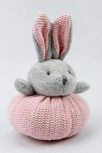 Portaconfetti Coniglietto in tessuto