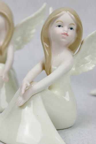 Statuine Fatina in porcellana - soggetti assortiti