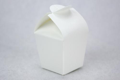 Scatolina portaconfetti bianca