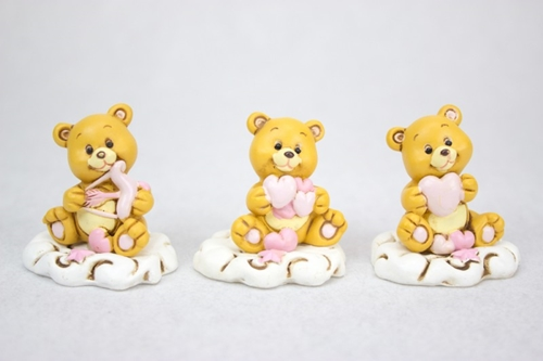 Orsetti dell'amore - rosa o celesti - soggetti assortiti