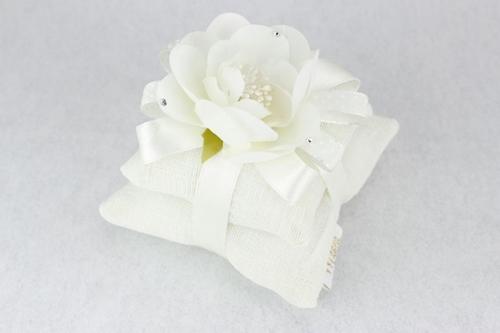 Doppio cuscinetto con gardenia