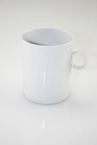 Mug cilindrica in porcellana