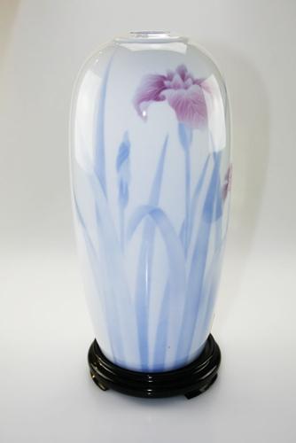 Vaso floreale in porcellana