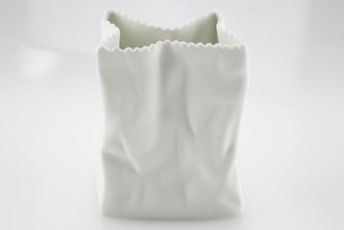 Mini Vaso a sacchetto in porcellana