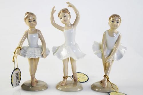 Ballerine in vari modelli - porcellana