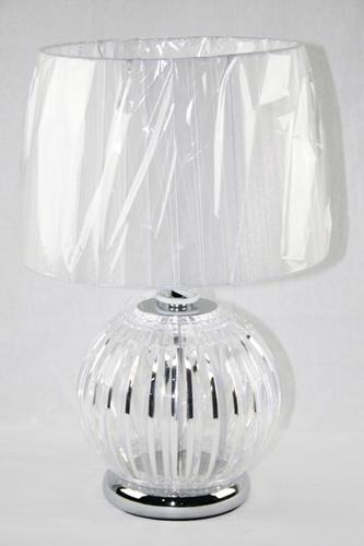 Lampada con tela e plastica