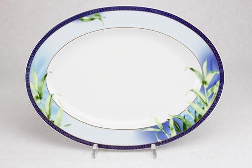 Piatto ovale da portata Rosenthal palme