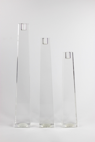 Candeliere Blockglass di Rosenthal