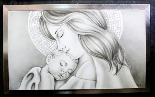 Capezzale madonna con bambino
