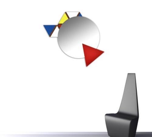 Specchio moderno stile astratto- Laser Art Style