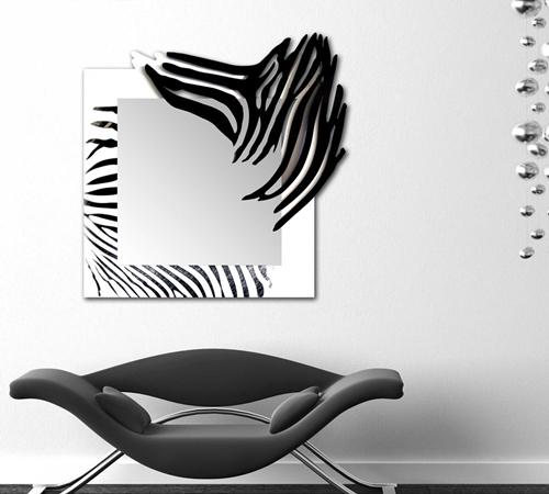 Specchiera astratta moderna incisa Laser Art Style