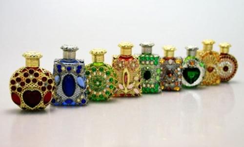 Bomboniera - boccetta portaprofumo colorate