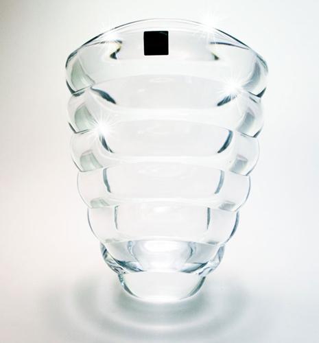Vaso in cristallo cm.26
