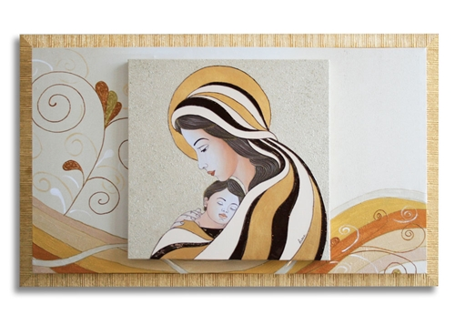 Capezzale Madre e figlio
